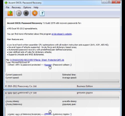 excel 2010 password encryption