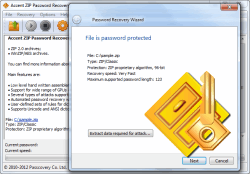 ZIP Password Recovery: GPU Password Recovery WinZip (.Zip, .Zipx)